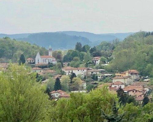 Belvedere di Mirasole Cellina and chiesa Maria Stella Maris