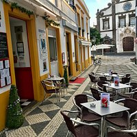 Azores forever, set in a quiet setting off the main square with a great view of the church