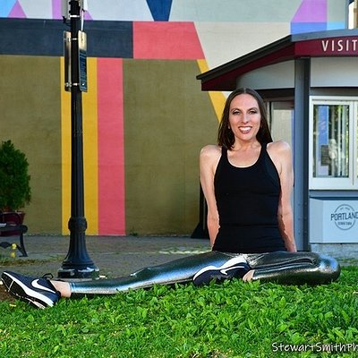 Leigh Rush Olson, your Tour Guide and founder of Historic Workouts®