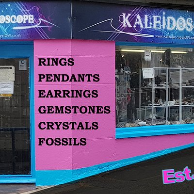 Interesting Pink shop at the top of Pier Street,  Sandown, Isle of Wight