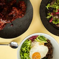 Combinacao pratos com sabors diferentes e saudaveis!
