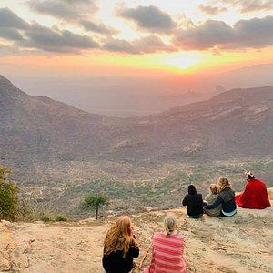 Sunrise on Mt. Oloolokwe Samburu. One of the most enchanting places in Kenya.