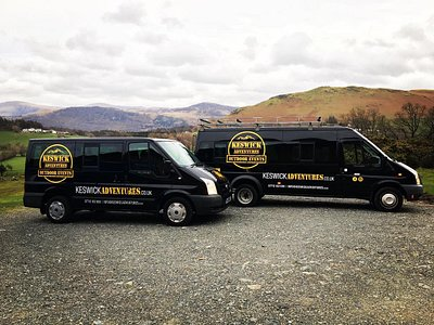 Our fleet of minibuses ready to take you on your adventure