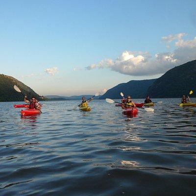 Paddling New York's Hudson River Valley!