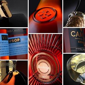 CAMUS COGNAC universe, intensely aromatic. L'univers des produits CAMUS, intensément aromatiques.