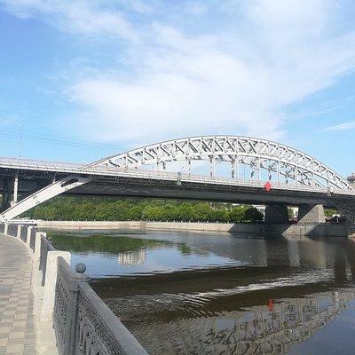 Лужнецкий ж/д мост - Краснолужский (новый) мост.