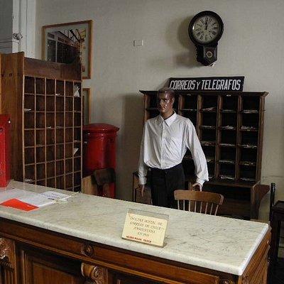 Chilean postal museum.