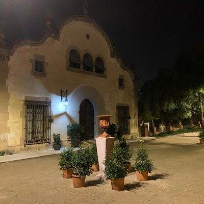 Casa que aloja la Fundación Ramon Pla i Armengol.