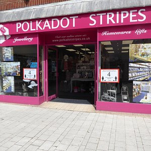 Polkadot Stripes has re-opened following the Covid19 lockdown.   We are operating with increased space to enable social distancing and limiting the numbers in the shop to four at a time.