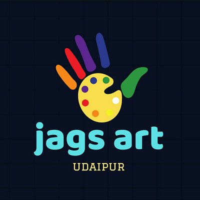 jags art udaipur logo creative wall art work udaipur wall painter and artist interior work udaipur