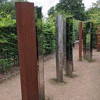 Bellahouston Park Maze Sculptures