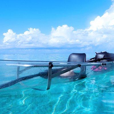 Nos kayaks transparents