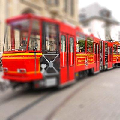 Stadtrundfahrt mit der Straßenbahn