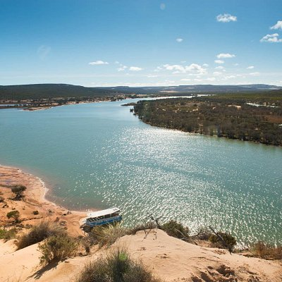 Discover the beauty of the Murchison River in Kalbarri, Western Australia