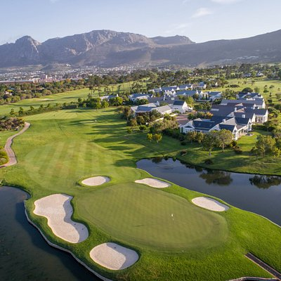 Steenberg Golf club from the air