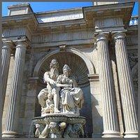 Albrechtsbrunnen (Danubiusbrunnen). Wien