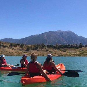 Kayak rental at Viñuela Lake - Alquiler de kayaks en el Embalse de La Viñuela