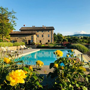 Organic Agriturismo with pool near Modena and Bologna