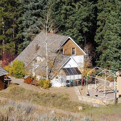 The Vail Nature Center is a 1940's homestead perched between a mountain meadow and the forested bank of Gore Creek.
