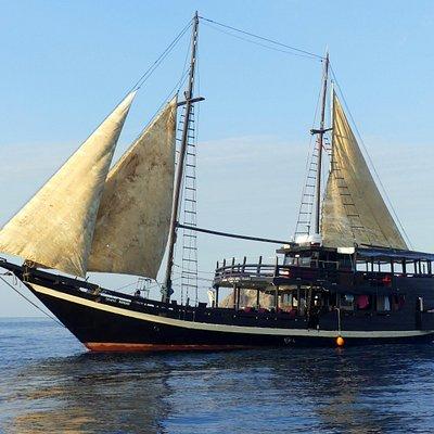 Le bateau Cahaya Mandiri
