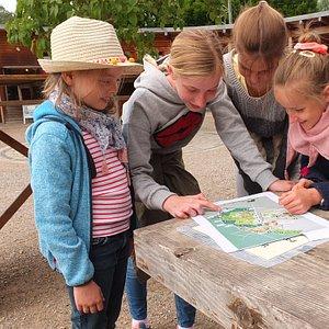 Kinder-Rätseltour Mundenhof Team 1