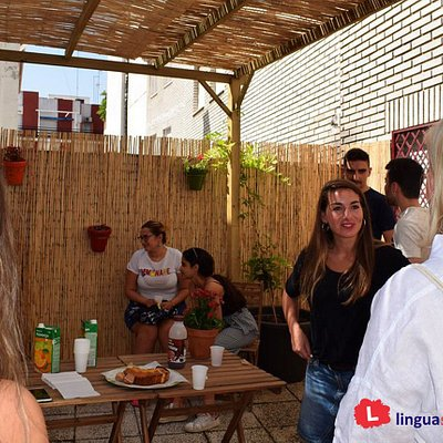 Linguaschools Granada - private terrace
