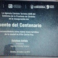 Puente del Centenario: Villa Carlos Paz, Provincia de Còrdoba- Argentina 2020.