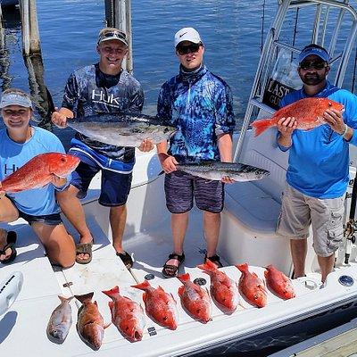 Fun reef fishing trips for snapper!