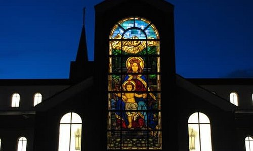 Our Lady of the Rockies window