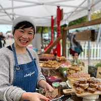 Poh Ling Yeow at her JamFace stall at Adelaide Showground Farmers' Market every Sunday 8.30am - 12.30pm