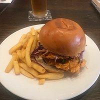 Lady Daly:  Nashvile Spicy Chicken Burger