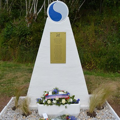 29th Division Monument at Le Pont de la Pierre