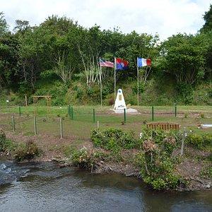 29th Division Monument & Memorial Garden at Le Pont de la Pierre