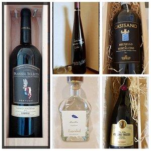 Empfehlungen von der Weinfee,  alles online zu kaufen unter  www.weinfeeshop.de