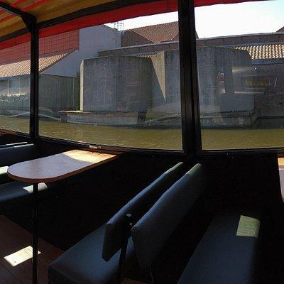 Interieur Rondvaartboot