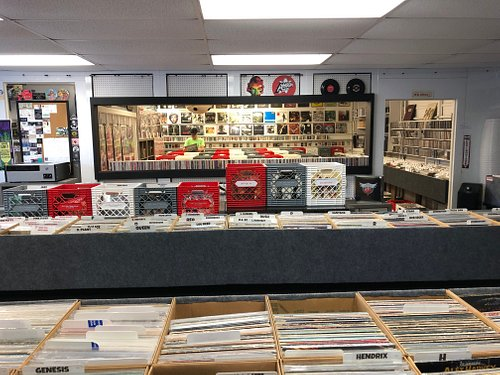 We have a huge selection of vintage classic rock albums!