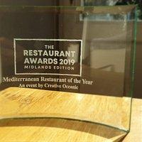 ⭐ Awarded Best Mediterranean Restaurant of the Year in the Midlands in 2019! ⭐