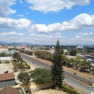 Lý Nam Đế street (view from my room).