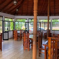 If you are satisfied with the trip or pilgrimage on your way do not hesitate to stop at the ' Pela Restaurant ' with a small lagoon adjoining, you can have Tasty and Delicious Food quickly. come and enjoy the food you will realized the Difference......