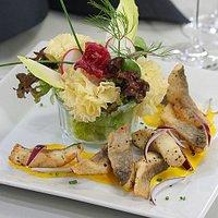 Restaurant de Courtemelon (FRI) avec produits du terroir et spécialités jurassiennes