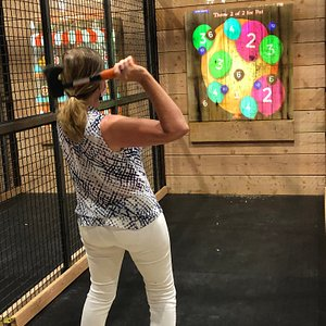 Who knew throwing axes could be so much FUN!