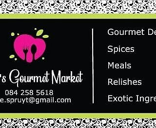 Spices, Exotic Spice Blends, Pestos & Relishes, Frozen Meals.