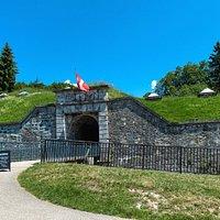 Entrée du Fort de Tamié