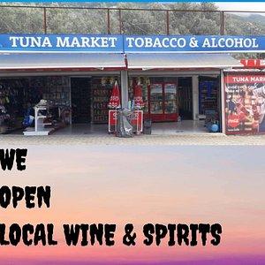 Tuna Market Tobacco & Alcohol
