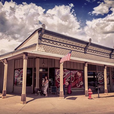 The Oriental Saloon-- the beating heart of the Tombstone historic district!