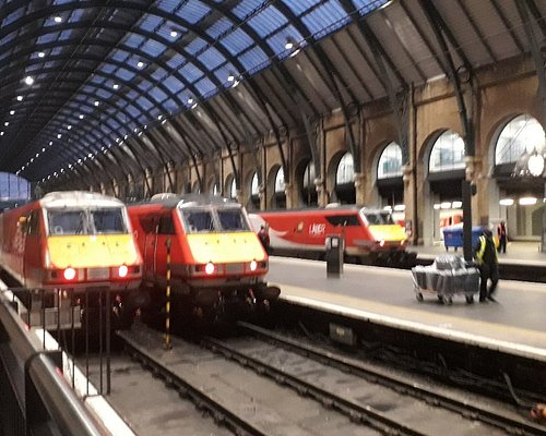 Kings Cross station, owned by Network Rail