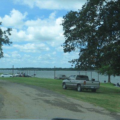 Picnic area. Limestone County Park # 3, Groesbeck, TX,  June 2020
