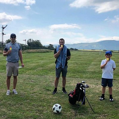 Golf and Football session