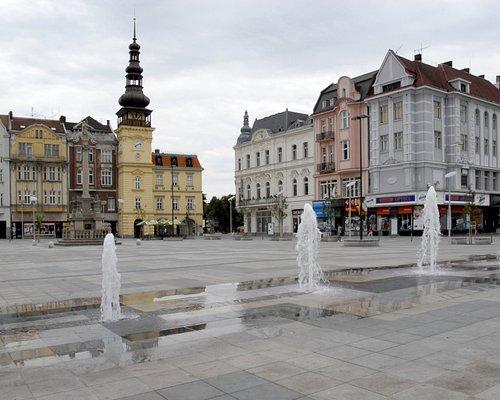 Ostravské muzeum na Masarykově náměstí v Ostravě