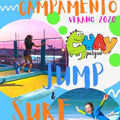 Pregunta para nuestro campamento de verano jump and surf una combinación de alegría e movimiento para un verano inolvidable te esperamos en Guay Parque 😉  +34633342268 miky +34659928284 moni NO TE LO PIERDAS NUESTRA PRIMERA EDICION DE CAMPAMENTO AVRÀ CLASE DE SURF CLASE TRAMPOLINE PARKOUR,HINCHABLES TORNEOS DE TORO MECANICO, MANUALIDAD  EN LA QUALE CREAREMOS PIÑATAS ,HAREMOS INCIENSO NATURALES,PINTAREMOS TEJIDOS CON COLORES NATURALES Y PINTAREMOS LA CARA DE NUESTRO AMIGOS...Y MUCHO MUCHO MAS!!